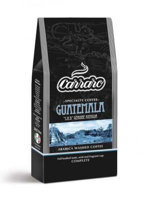 Carraro Guatemala 250 гр вакуум. Цвет: коричневый