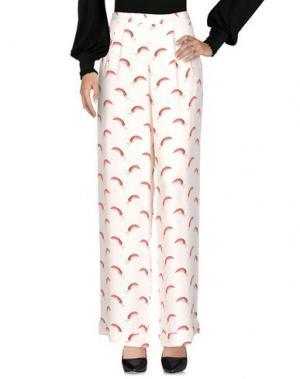 Повседневные брюки ISOLDA. Цвет: слоновая кость