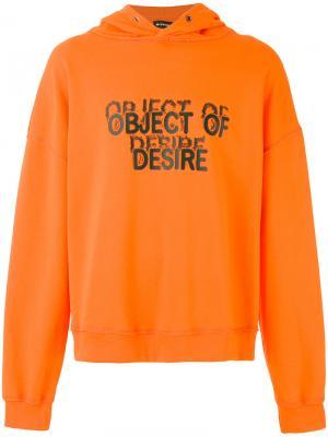 Толстовка Object of Desire Misbhv. Цвет: жёлтый и оранжевый