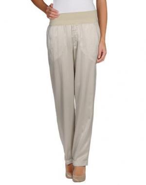 Повседневные брюки EUROPEAN CULTURE. Цвет: светло-серый