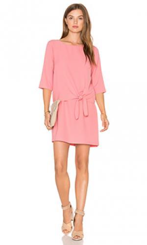 Мини платье tenley cupcakes and cashmere. Цвет: розовый