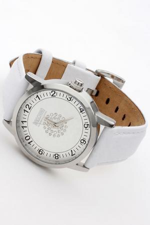 Часы Moschino. Цвет: белый