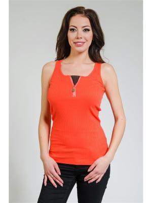 Топ Zia. Цвет: оранжевый