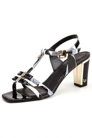 Босоножки на каблуках Loretta Pettinari. Цвет: черный