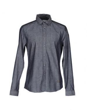 Джинсовая рубашка REPLAY. Цвет: синий