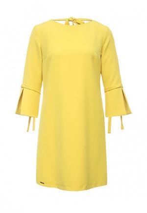 Платье Top Secret. Цвет: желтый
