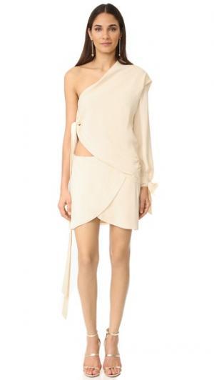 Платье Wind Catcher Bec & Bridge. Цвет: белый