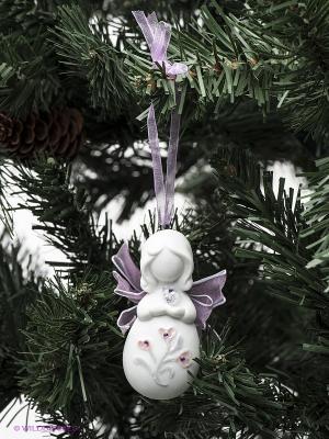 Фигура подвесная Ангелочек Pavone. Цвет: белый