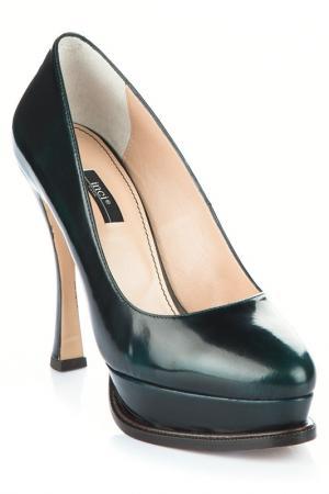 Туфли INCI. Цвет: зеленый