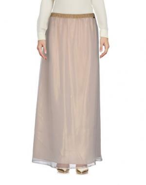 Длинная юбка GIORGIA & JOHNS. Цвет: бежевый