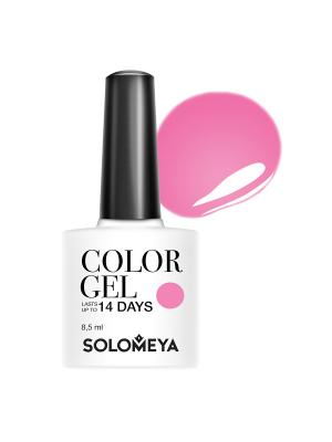 Гель-лак Color Gel Hot Pink SCGY013/Жгучий розовый SOLOMEYA. Цвет: розовый