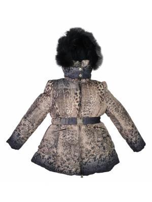 Куртка BORELLI. Цвет: светло-коричневый