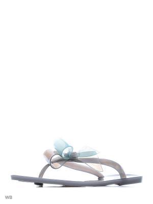 Пантолеты Mon Ami. Цвет: серый