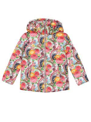 Куртка ЕМАЕ. Цвет: розовый, серый