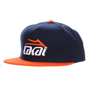 Бейсболка  Essential Navy/Orange Lakai. Цвет: синий,оранжевый