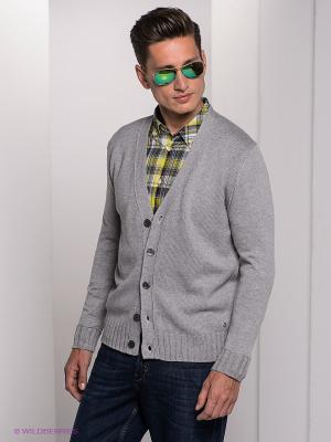 Кардиган Bogner Jeans. Цвет: серый