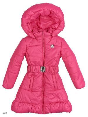 Пальто Senso kids. Цвет: розовый