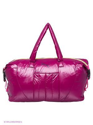 Сумка Fit AT Workout Bag Puma. Цвет: бордовый