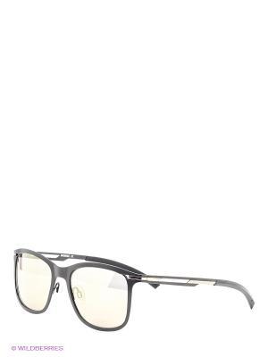Очки солнцезащитные BK 685S 01 Bikkembergs. Цвет: черный