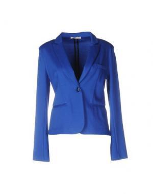 Пиджак NIOI. Цвет: ярко-синий