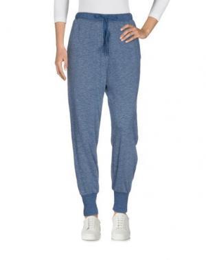 Повседневные брюки CLU. Цвет: грифельно-синий