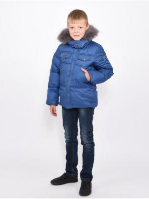 Куртка для мальчиков TOPKLAER. Цвет: синий
