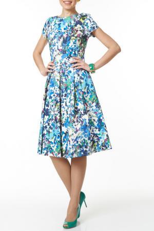 Платье Argent. Цвет: мультицвет