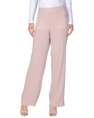 Повседневные брюки AMONREE. Цвет: телесный