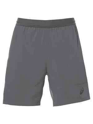 Шорты M ATHLETE SHORT 7IN ASICS. Цвет: серый