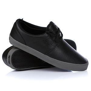 Кеды кроссовки низкие  Capitol True Black/Grey Fallen. Цвет: черный