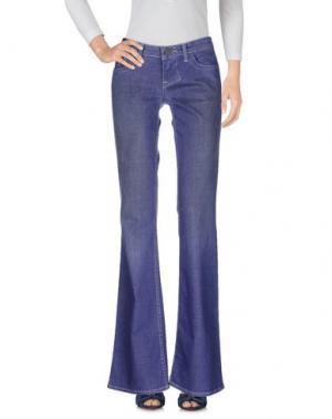 Джинсовые брюки WILLIAM RAST. Цвет: грифельно-синий