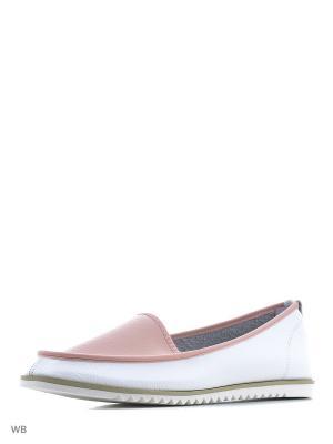 Туфли Wilmar. Цвет: розовый, белый