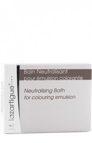 Нейтрализующая ванна после эмульсии для окрашивания волос J.F. Lazartigue. Цвет: бесцветный