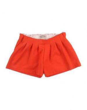 Повседневные шорты HUCKLEBONES. Цвет: красный