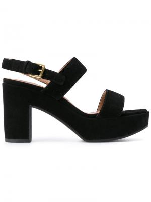 Strapped sandals LAutre Chose L'Autre. Цвет: чёрный