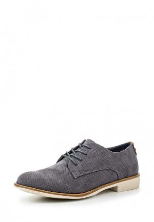Ботинки Jane Klain. Цвет: серый