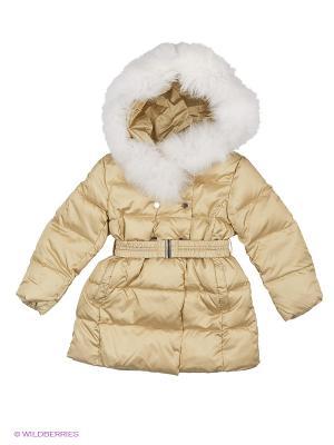 Пальто SNOWIMAGE. Цвет: бежевый