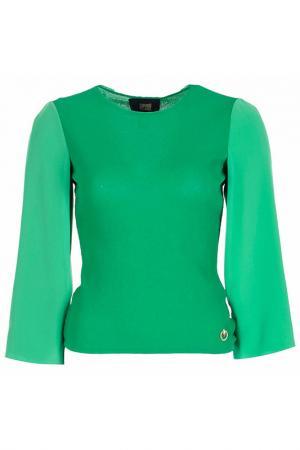 Пуловер Class Cavalli. Цвет: зеленый