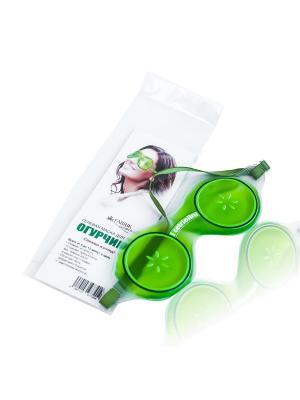 Гелевая маска для глаз FABRIK Cosmetology. Цвет: зеленый, светло-зеленый