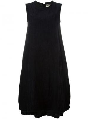 Расклешенное платье без рукавов Hache. Цвет: синий