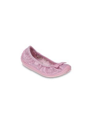 Балетки Befado. Цвет: розовый