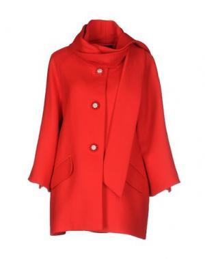 Пальто IVAN MONTESI. Цвет: красный