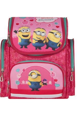 Рюкзак с усиленной спинкой Universal миньоны. Цвет: none