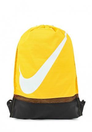 Мешок Nike. Цвет: желтый