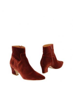 Полусапоги и высокие ботинки MIISTA. Цвет: ржаво-коричневый