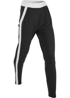 Длинные спортивные брюки (черный) bonprix. Цвет: черный