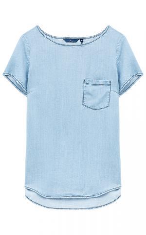 Блузка из денима Tom Tailor