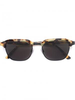 Солнцезащитные очки Gonzo Sol Leone Retrosuperfuture. Цвет: коричневый