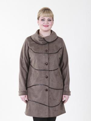 Пальто Кимберли VIKO. Цвет: светло-коричневый