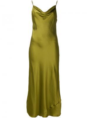 Платье Alexa Nili Lotan. Цвет: зелёный